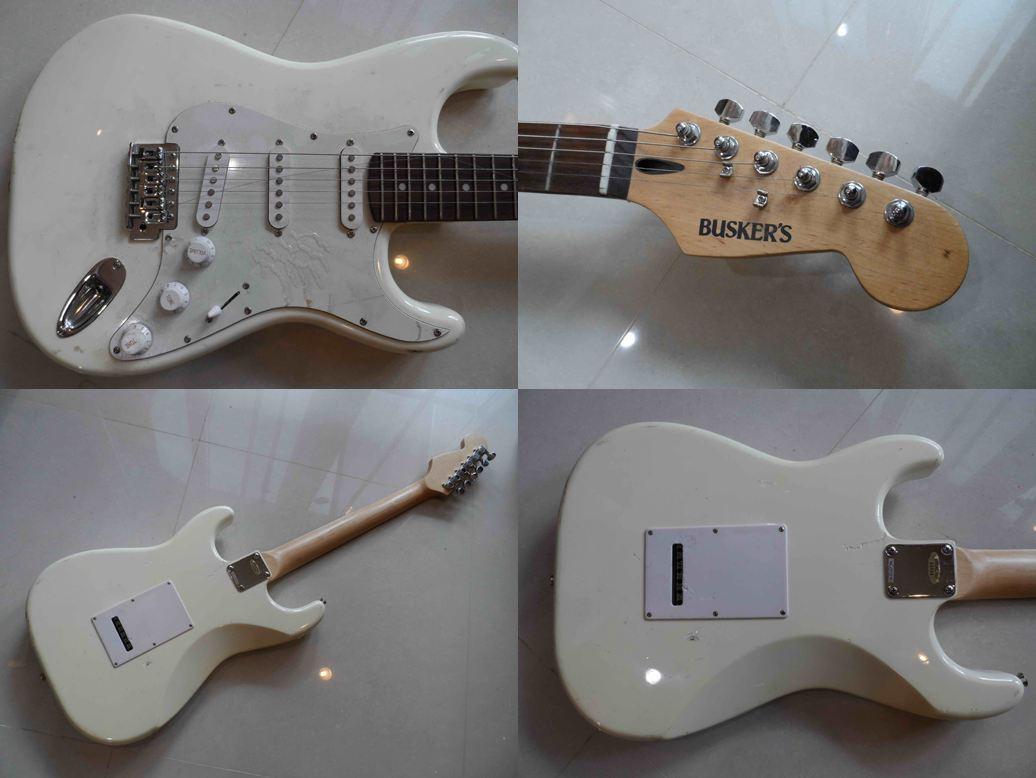 Busker s stratocaster wh