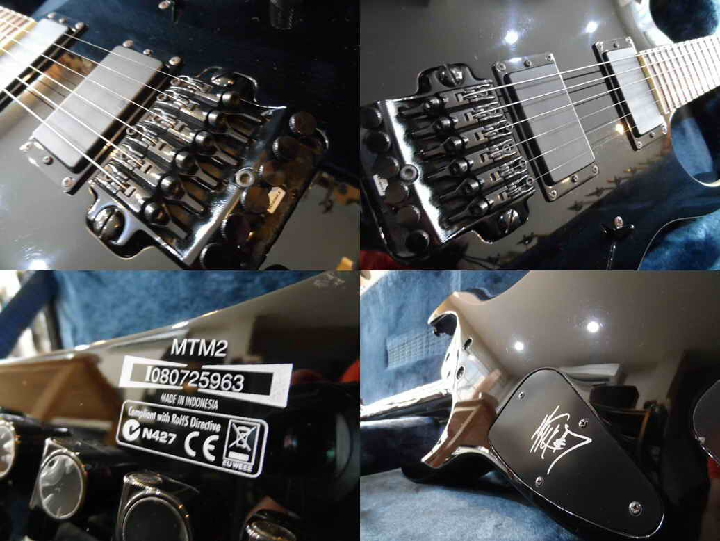 Ibanez  MTM2 signature slipknot
